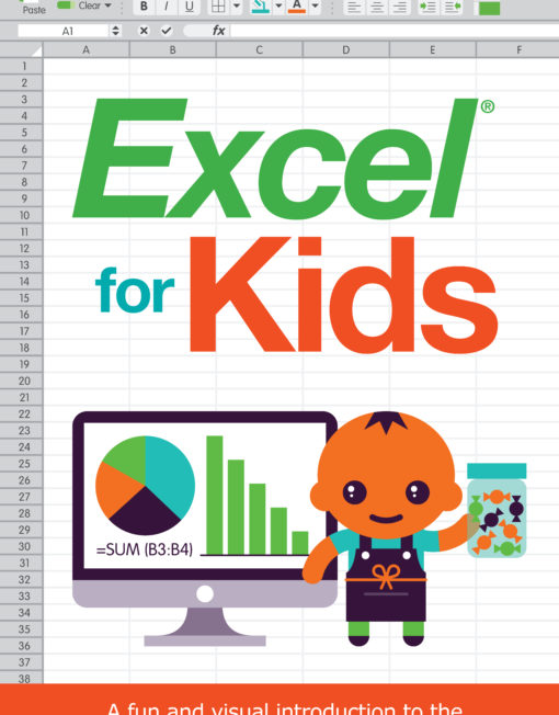 Excel for Kids Book Cover